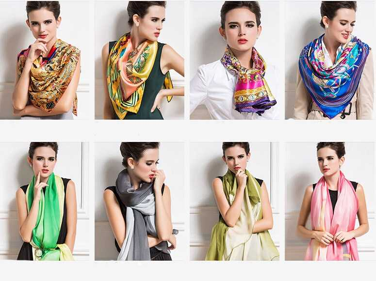 Custom made scarf and style design