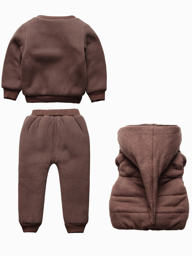 Production Of Children With Hood Thick Clothes Custom